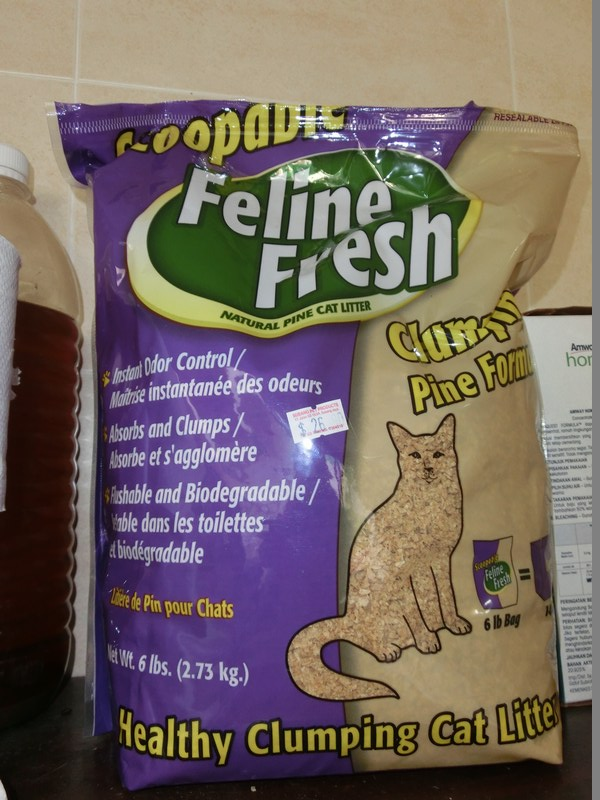 anyone knows where to get feline fresh pine wood cat litter purple pack animalcare. Black Bedroom Furniture Sets. Home Design Ideas
