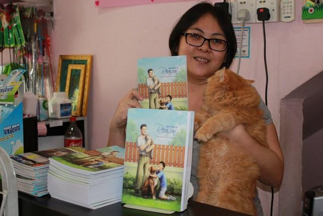 mini-Even her cat endorsed it